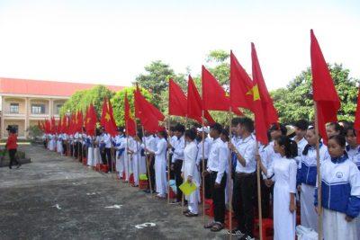 Hình ảnh lễ khai giảng năm học mới